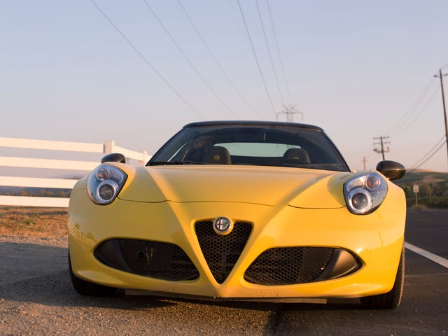 What An Alfa Romeo 4C And A Canyon Road Will Teach You About Modern Turbos