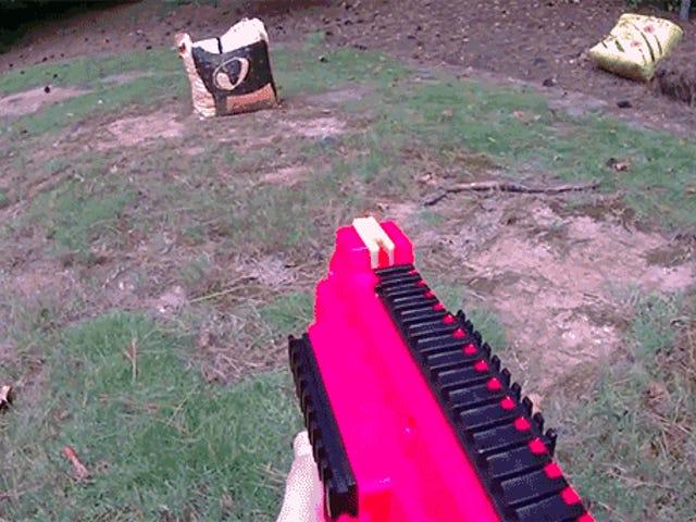 Guy Upgrades Nerfs nya 70 MPH Rival Zeus Blaster är helt automatiskt
