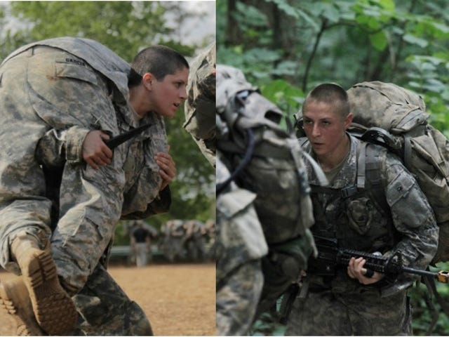 Congratulations to Capt. Kristen Griest and 1st Lt. Shaye Haver.
