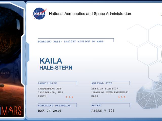 Đăng ký để gửi tên của bạn lên sao Hỏa với NASA
