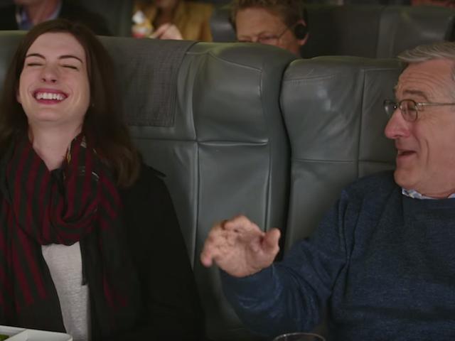 낸시 마이어스는 로버트 드니로 (Robert De Niro)가 '나는 이제까지 쓴 최고의 남자'
