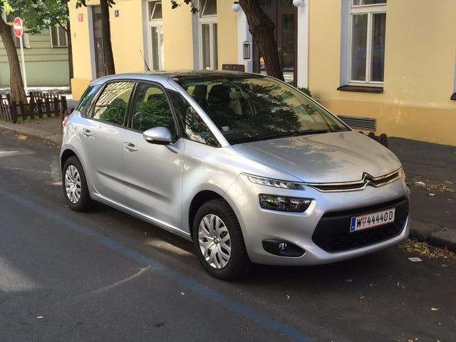 Den (Leide) Citroën C4 Picasso i Europa