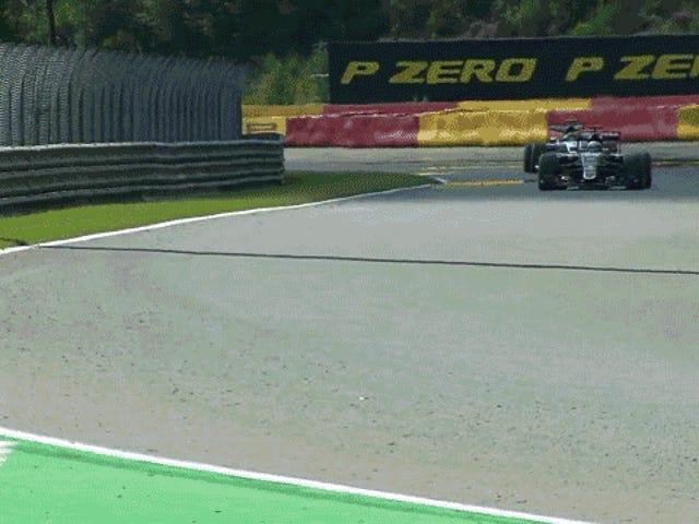 'Oh Kjære, det er ikke bra': Nico Rosberg har spektakulær utblåsning i praksis