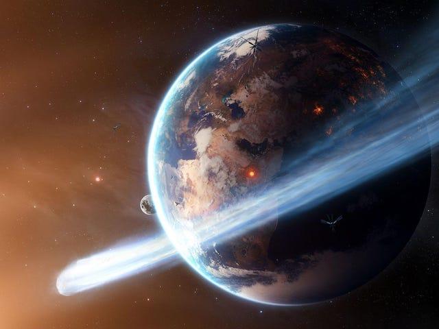 ¿Cómo sería ser un cometa?