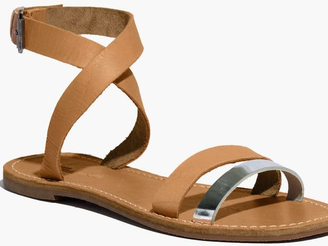 Madewell's Sightseer Sandals Are Trying to Kill You