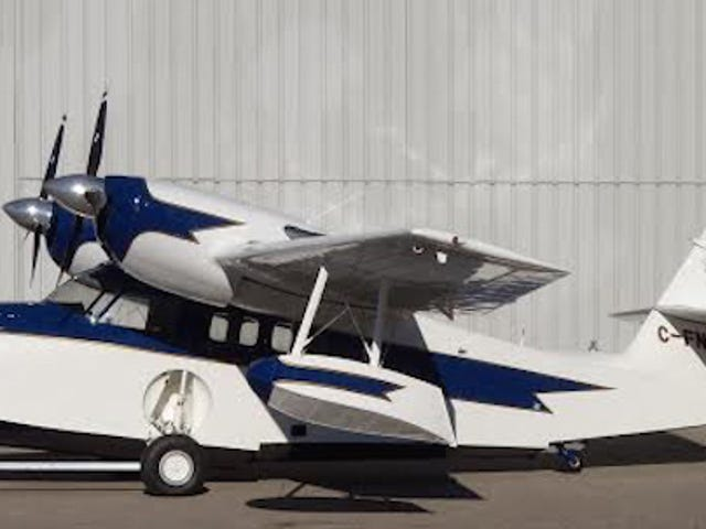 For $325,000 You Could Explore In This Amphibious GrummanG44A Widgeon