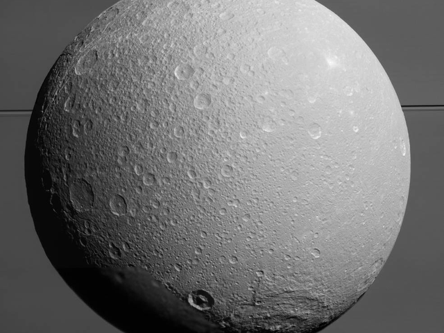 One Last Look at Dione