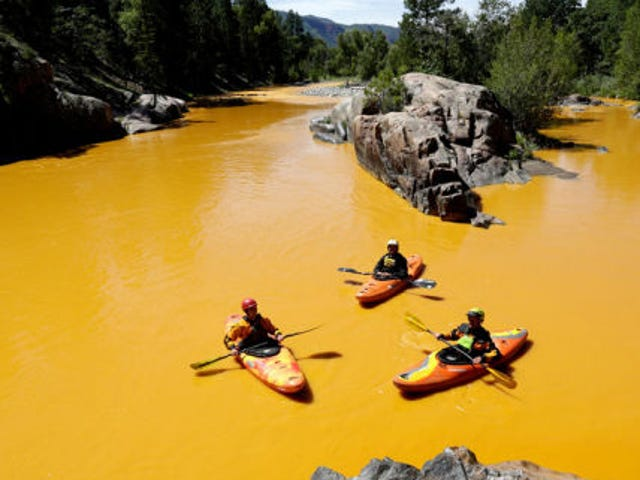 """EPA đã biết về rủi ro """"xả hơi"""" tại mỏ vàng King"""