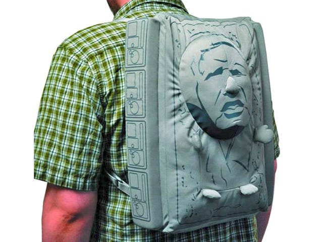 Search Your Feelings; You Know You Want This Frozen Han Solo Backpack