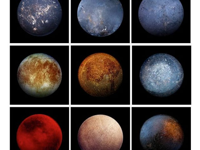 Only one of These Images is a Moon, but Which one?