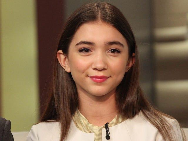 Rowan Blanchard, 13 anni Disney Star, è più intelligente sul femminismo di molti adulti