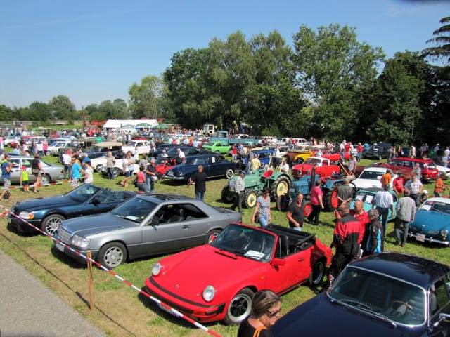 Another Classic Car Show done by zee Germans