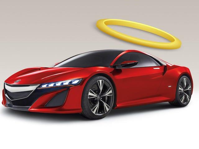 Der Acura NSX wird das perfekte Halo-Auto sein, und das ist der Grund