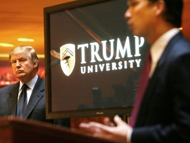 """Questi ex """"studenti"""" dicono che l'università di Trump era una truffa"""