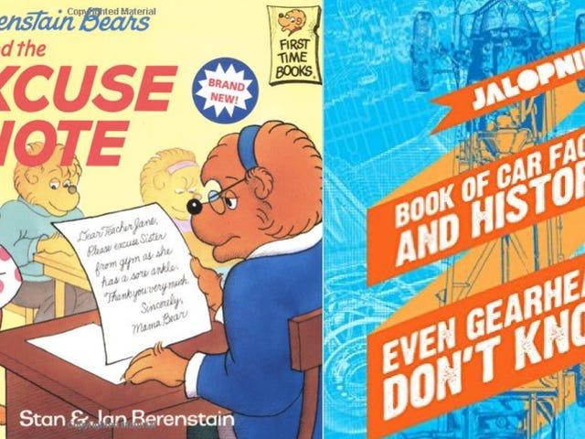Tại sao nên mua <i>The Berenstain Bears</i> khi bạn có thể mua Sách điện tử Jalopnik?