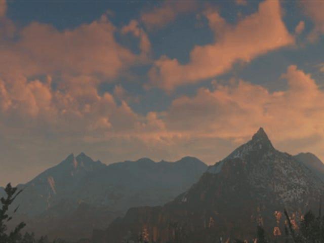 Las nubes en este juego de PS4 son realmente de nueva generación