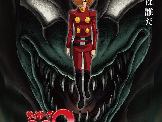 Här är det nya trailer för Cyborg 009 Vs.  Devilman