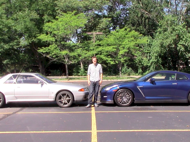 I Compared My 1990 Nissan Skyline GT-R To A 2015 Nissan GT-R
