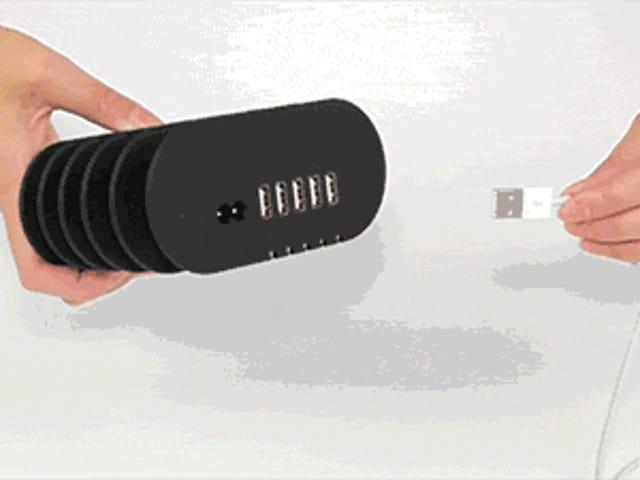 यह चार्जिंग स्टेशन मेरी केबल बुरे सपने में मदद कर सकता है