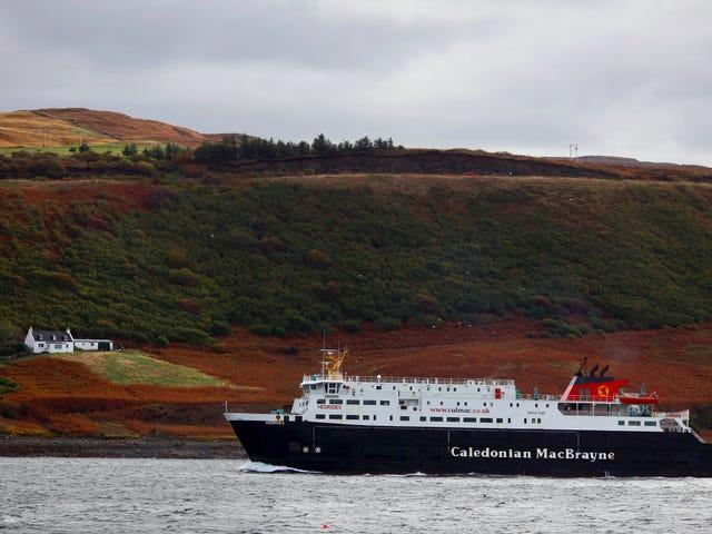 Non mi mostrerai la strada per l'isola del pene in Scozia?