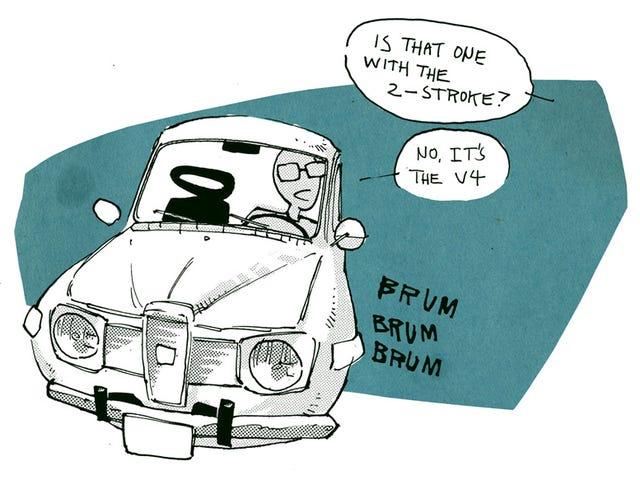 Чому Driving Старий Saab Cool.