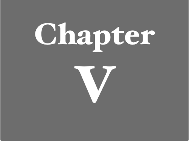 More Chapter Fives Than you Can Shake a Stick At!