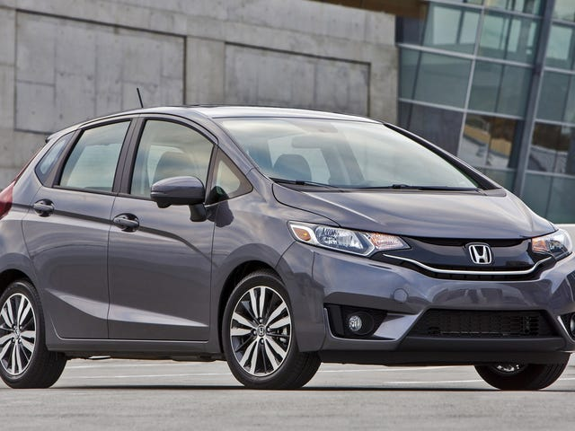 First New Car: '15 Honda Fit Impressions