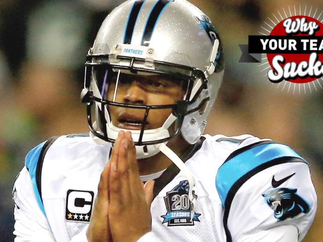 Por qué tu equipo chupa 2015: Carolina Panthers
