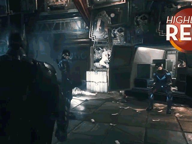 <i>Arkham Knight</i> Glitch Clones Nightwing, gör Batman See Double