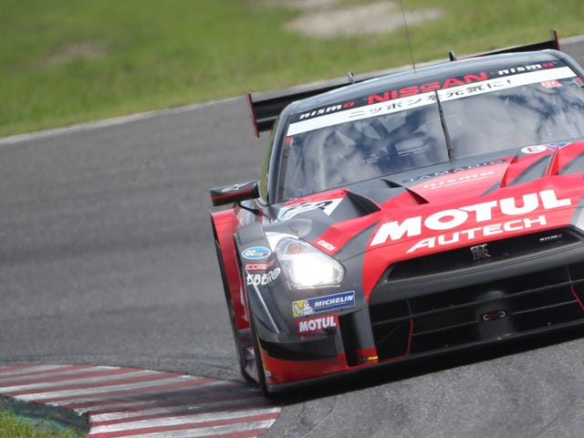 Watch Some Super GT Because Race Cars Never Sleep