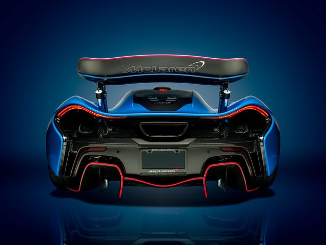 Your Ridiculously Awesome McLaren P1 Wallpaper Is Here