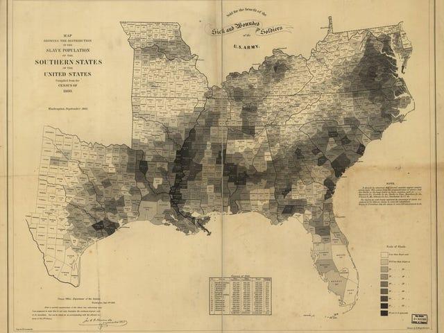 एक नक्शा;  और गृह युद्ध और 1% पर पेशी