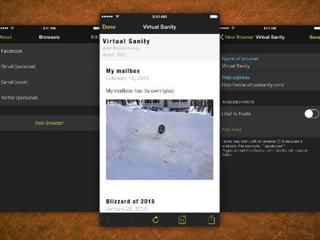 Marcato luo sivustoon liittyviä, suojattuja selaimia iPhoneen