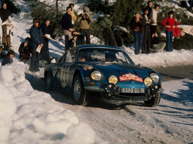 The Renault Alpine A110  Is The Most Jalop Car Ever