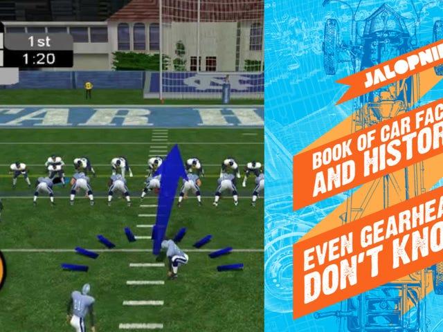 Pourquoi acheter <i>NCAA Football 2K3</i> pour PS2 <i></i>  Quand pouvez-vous obtenir le livre électronique Jalopnik?