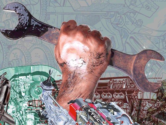 欢迎来到<i>The Garage</i> ,为他们的手弄脏的人的终极博客