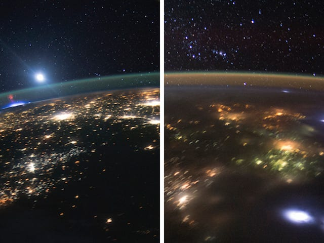 """Astronauts Spot Another """"Rare"""" Red Sprite Already!"""