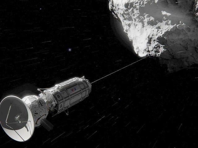 La NASA prépare les nouvelles arpones médianes