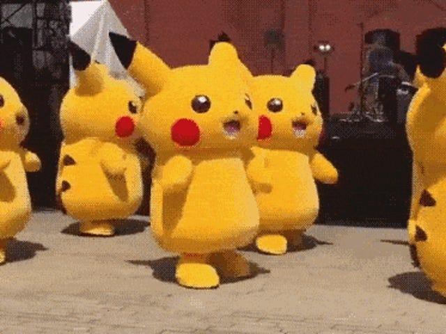 Pikachus Dansı Emin Olmak Hipnotik