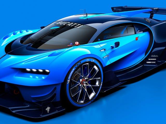 Bugatti Veyron Race Car Vi har alltid drömt om att komma fram till <i>Gran Turismo</i>