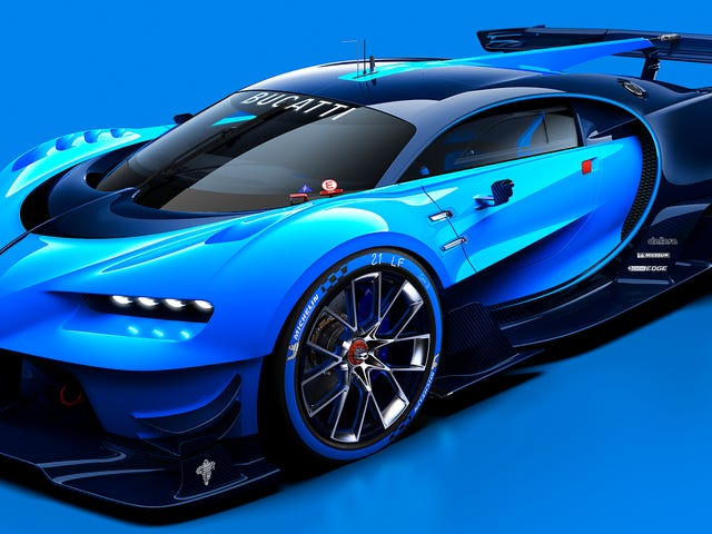 Den Bugatti Veyron Race Car Vi har alltid drømt om kommer til <i>Gran Turismo</i>