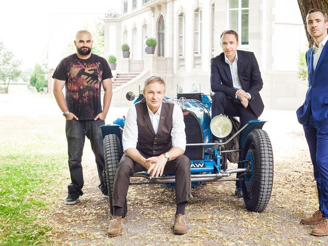 Namnlösa känslan i Bugattis designteam