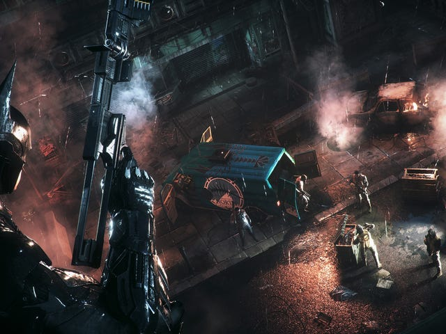 <i>Arkham Knight</i> PC Patch Briefly Appears, And Early Reports Are Promising