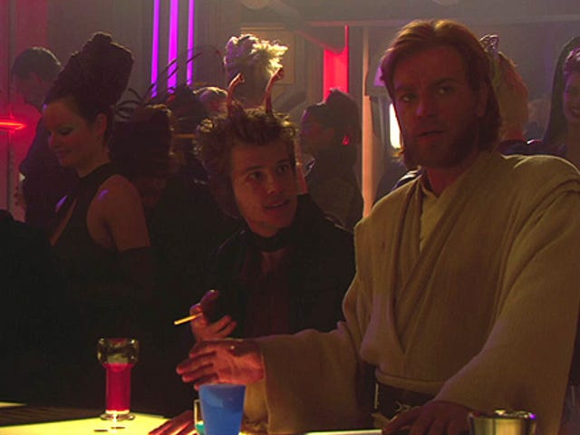All The Coolest Movie Characters Hang Out On Coruscant From Star Wars