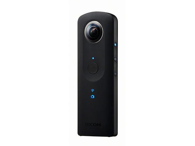 Ricoh's Theta S 360-Degree Camera Gets an Image Quality Upgrade