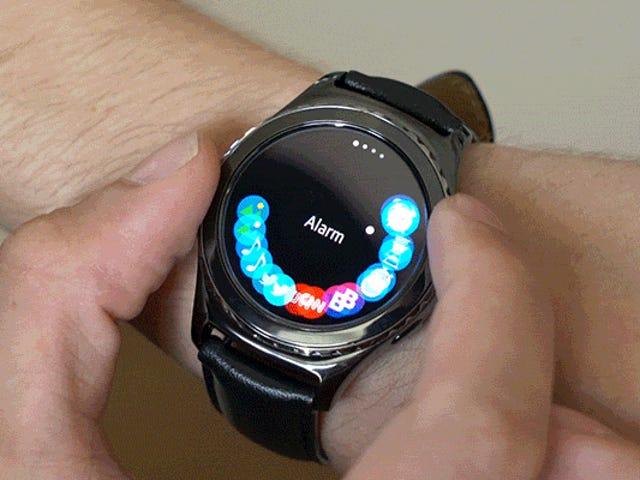 Gear S2 Smartwatch er en god ide, racked med OS voksende smerter