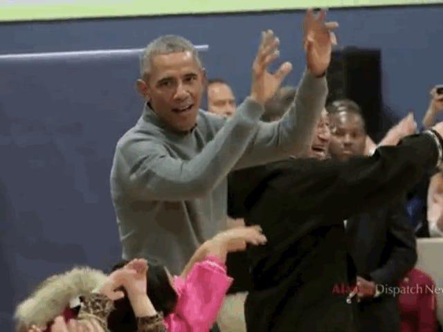 राष्ट्रपति ओबामा को अलास्का में उनके कमबख्त जीवन का समय है