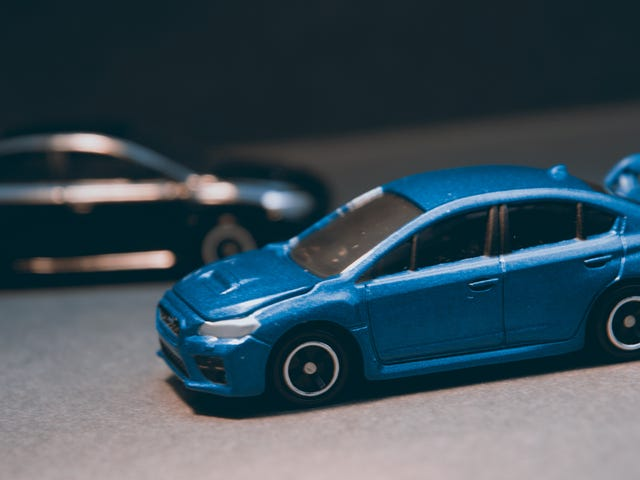 Tomica Thursday: Subaru WRX STI Type S