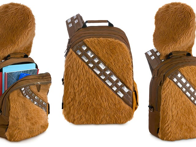 This Chewbackpack Is the Best Way To Carry Home Your Star Wars Treasures
