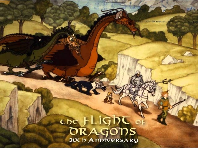 Midnight Movie: The Flight Of Dragons